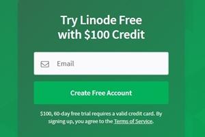 linode free 100